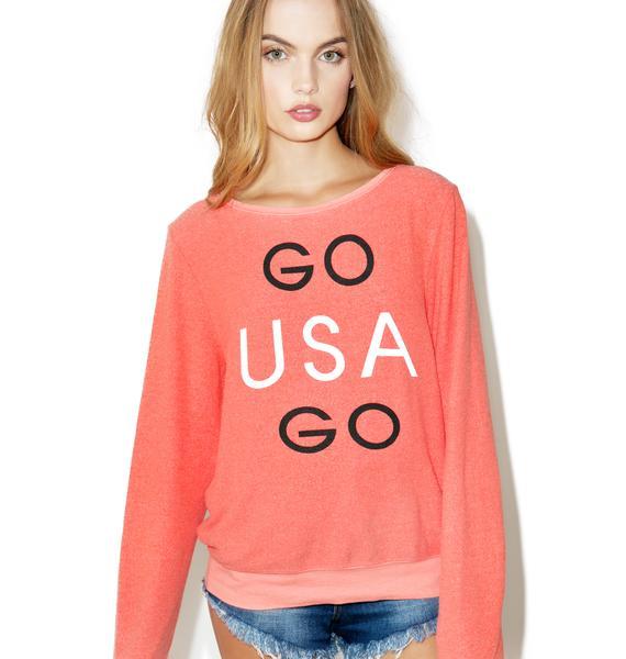 Wildfox Couture Go Team Go Sweatshirt