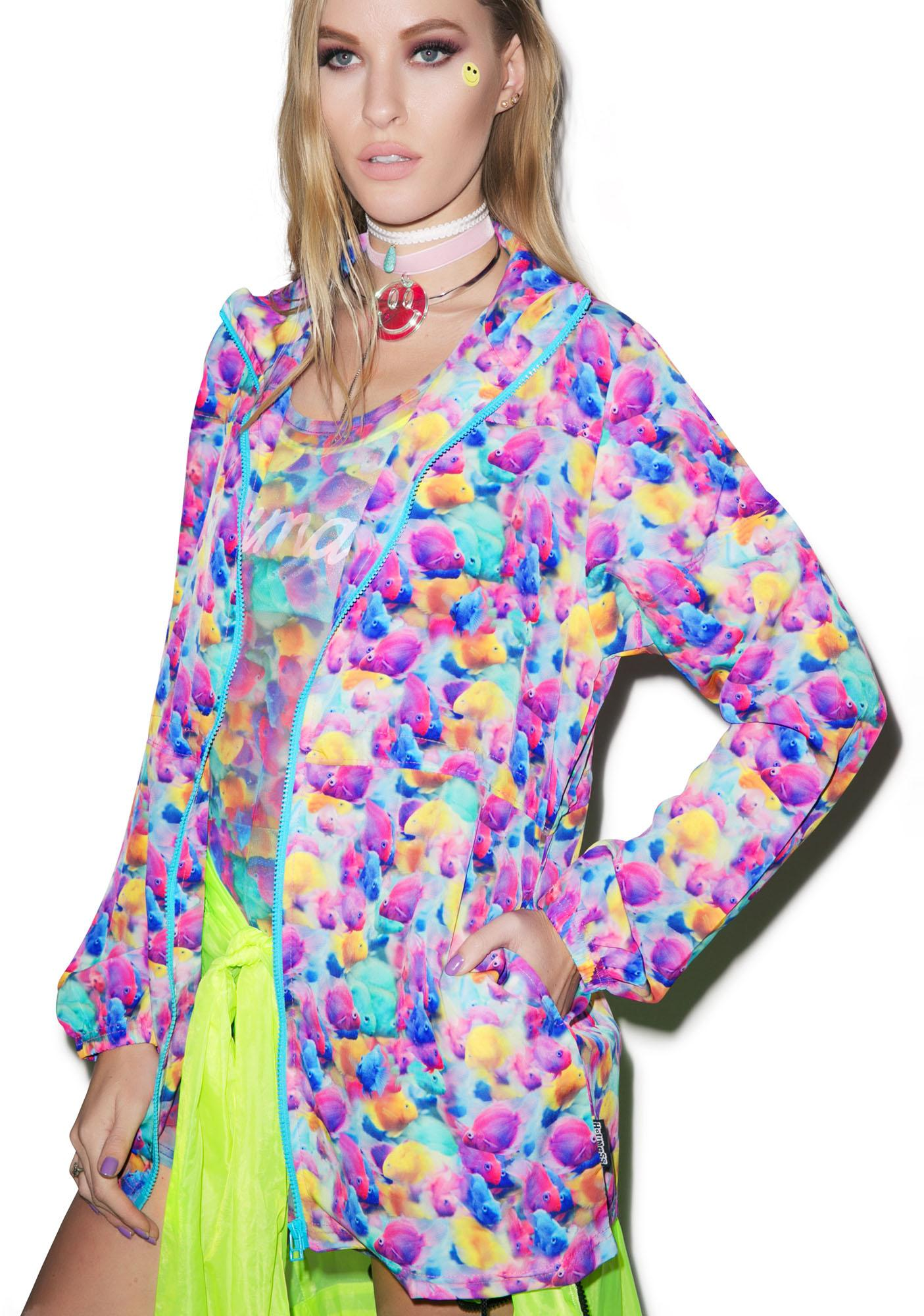 Hot!MeSS Under The Sea Panel Jacket