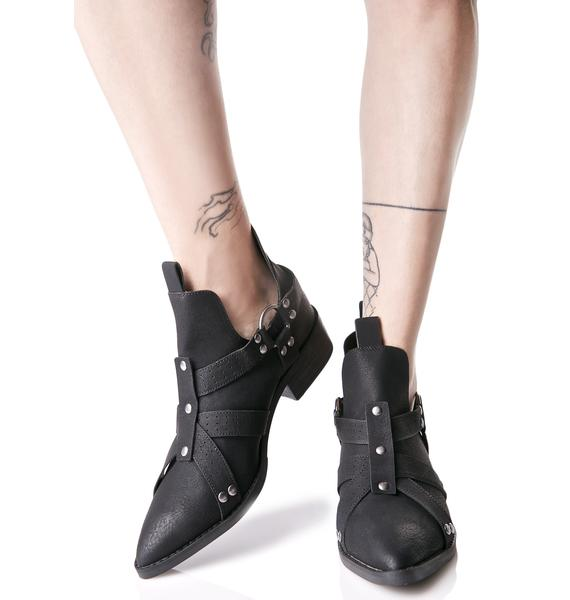 Matisse Knox Cut-Out Boots
