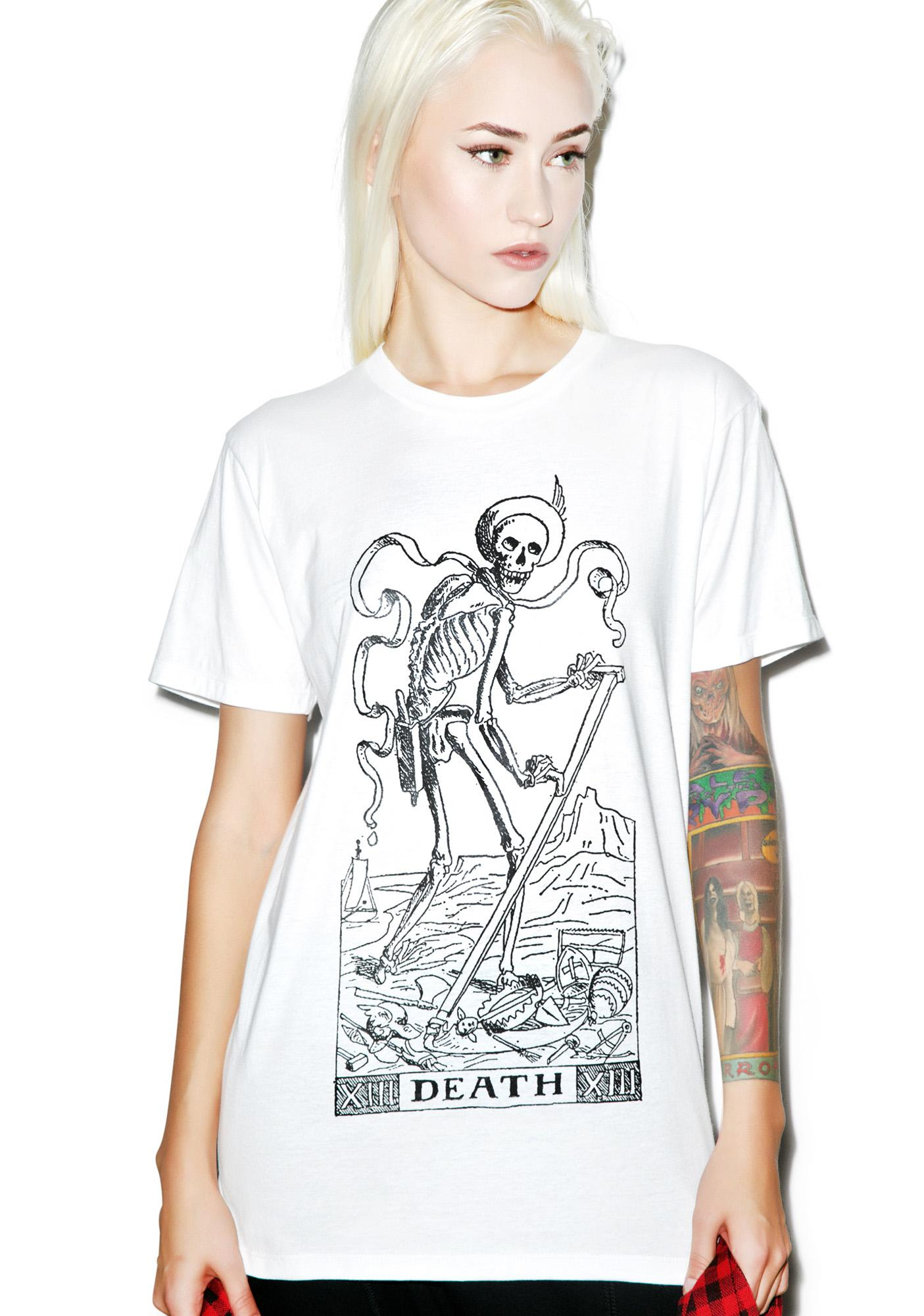 Death Tarot Card Tee