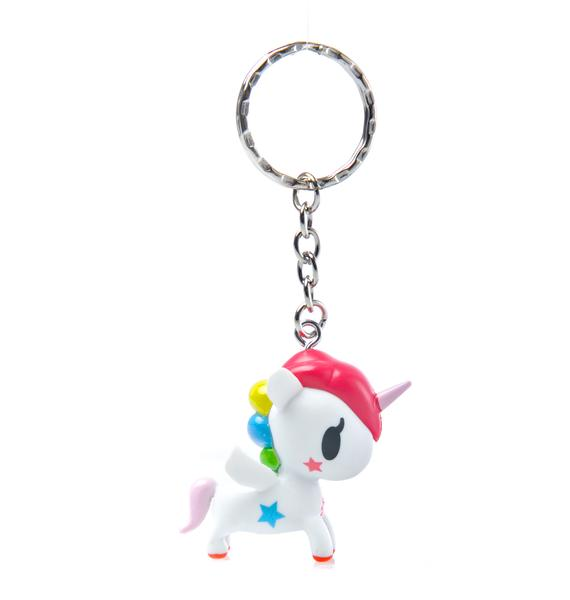 Tokidoki Stellina Unicorno Keychain