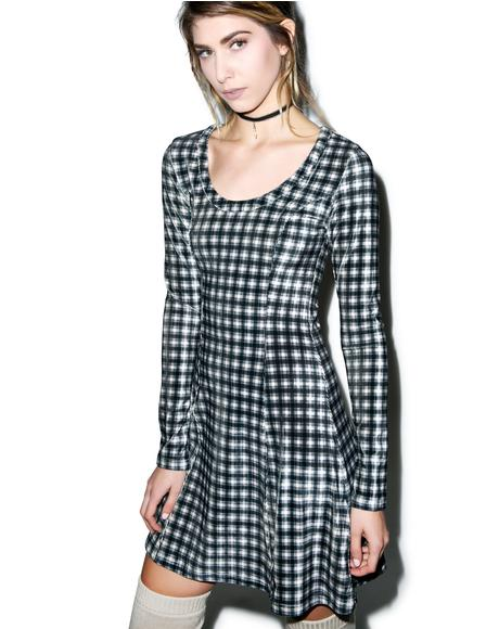 What Of It Velvet Crop Dress