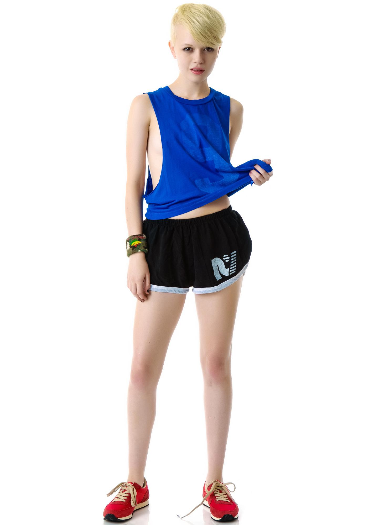 Rebel Yell Jogging Shorts