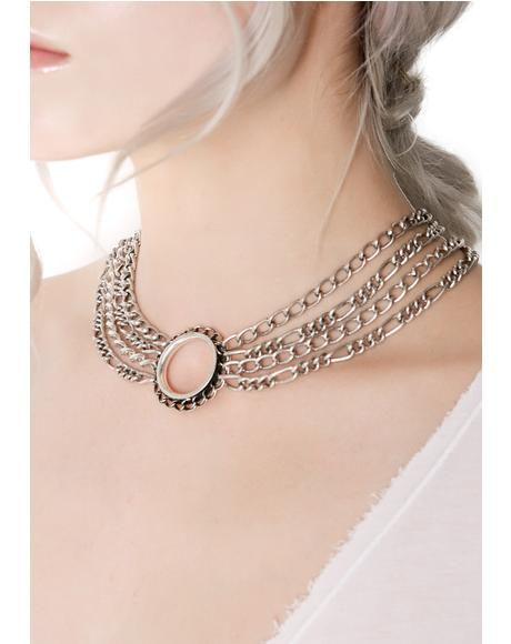 Infinity Chained Choker
