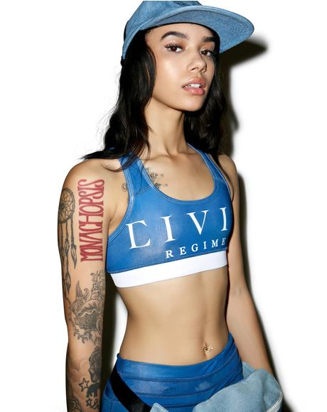 Civil Regime Sports Bra