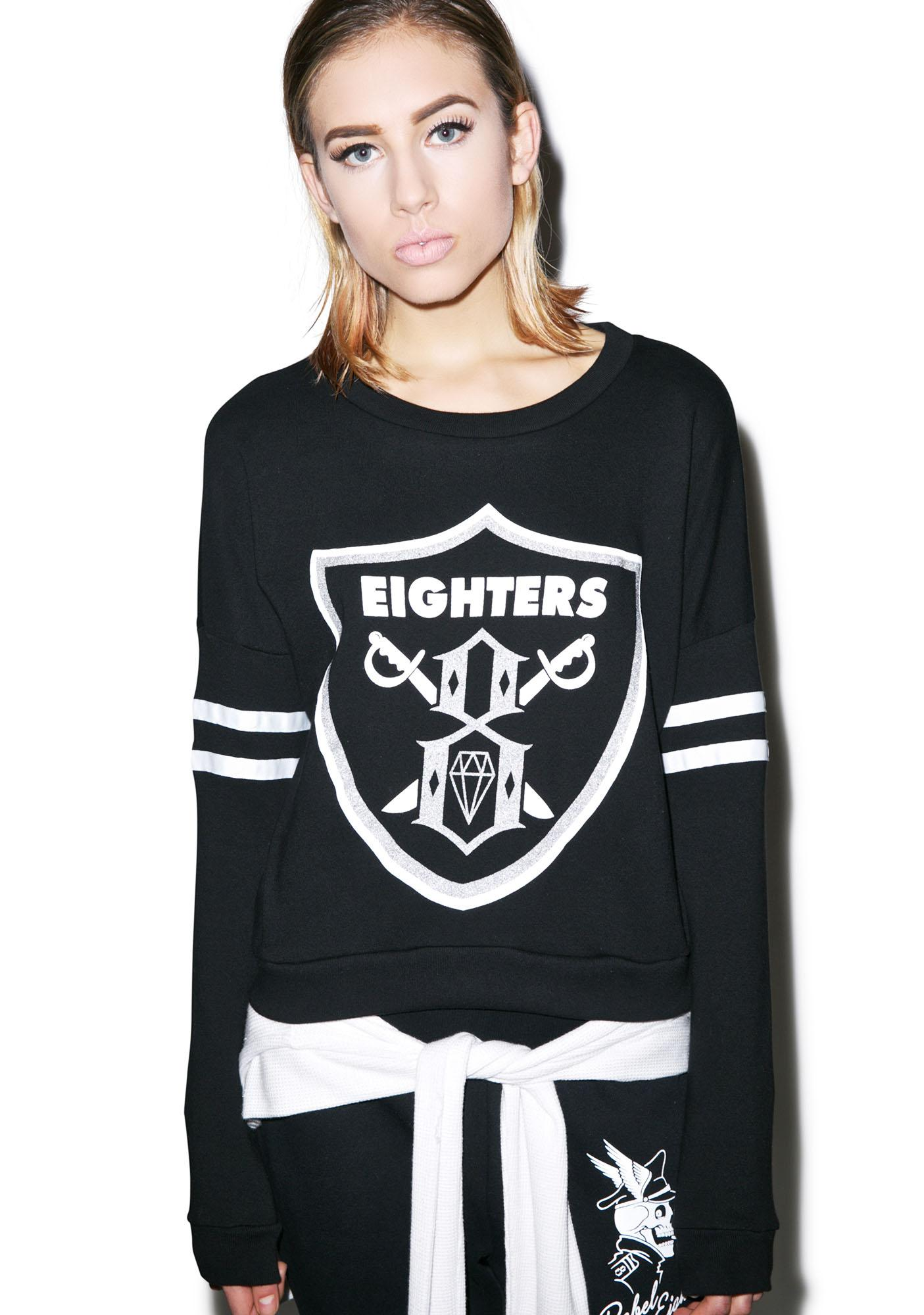 Rebel8 Eighters Cropped Crew