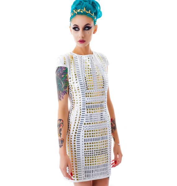 Cleo Studded Dress