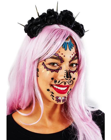 Dia De Los Muertos Face Jewels