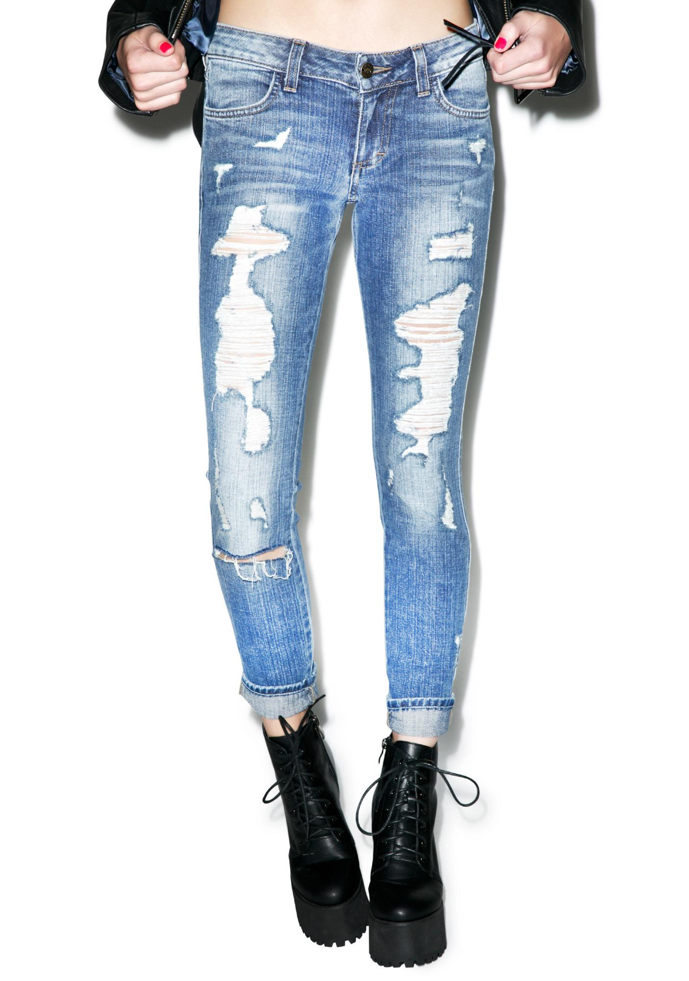 SIWY Denim Hannah Beach Bum Slim Crop Jeans