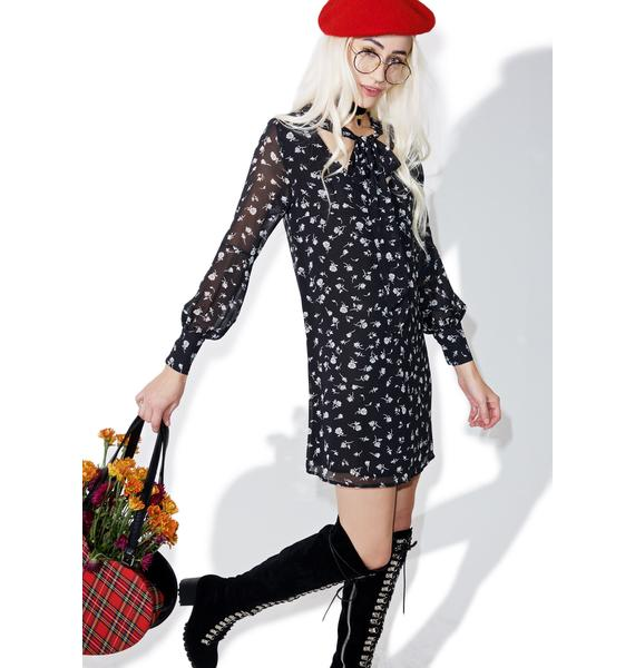 Wildfox Couture Floral Adore Dress