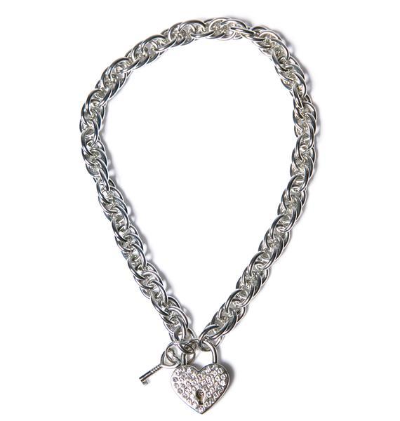 Club Exx Chain Of Luv Pendant