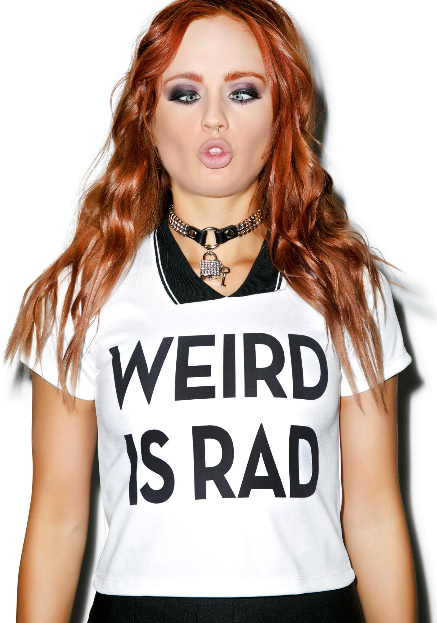 Weird Is Rad Polo Tee