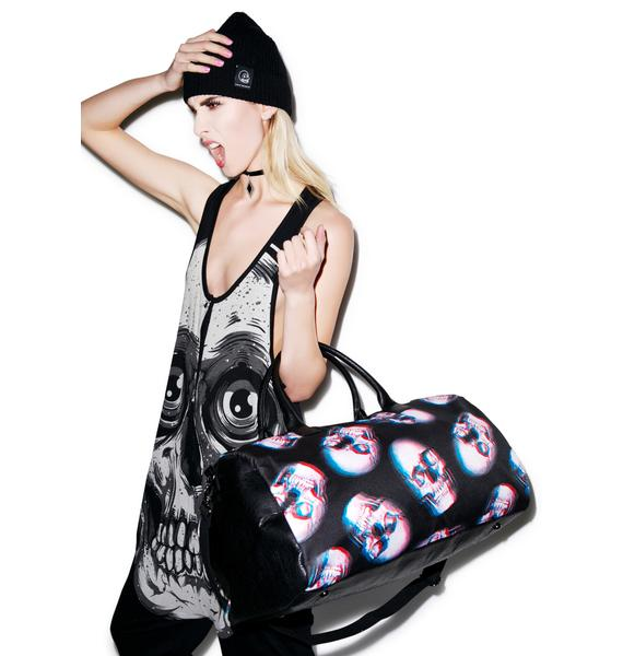 Iron Fist Skull Of Doom Duffle Bag