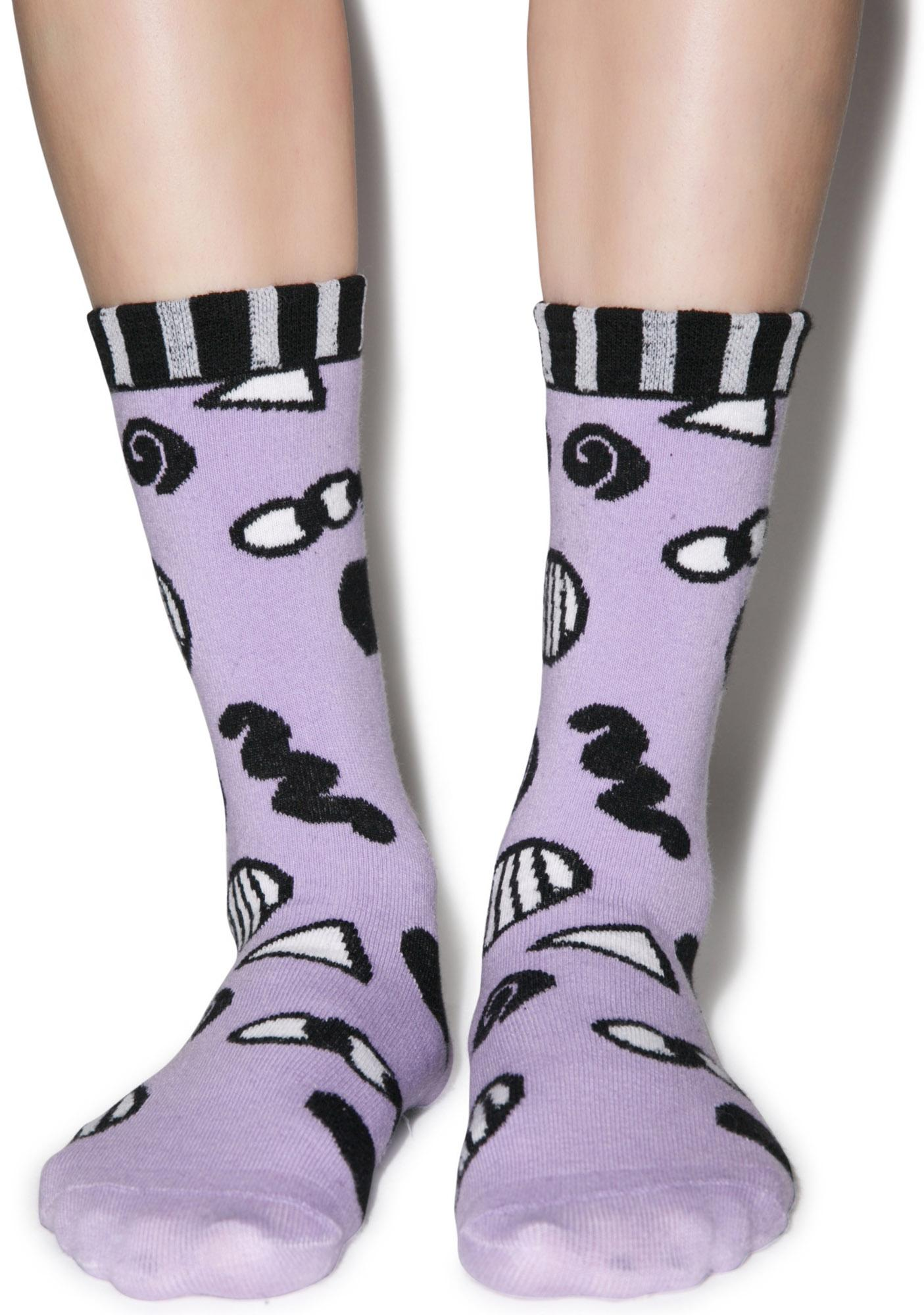 Lazy Oaf Eye Eye Socks