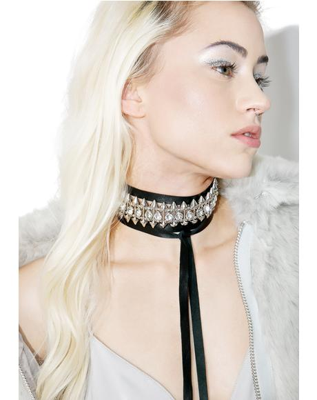 Guilty Pleasure Wrap Bolo Choker