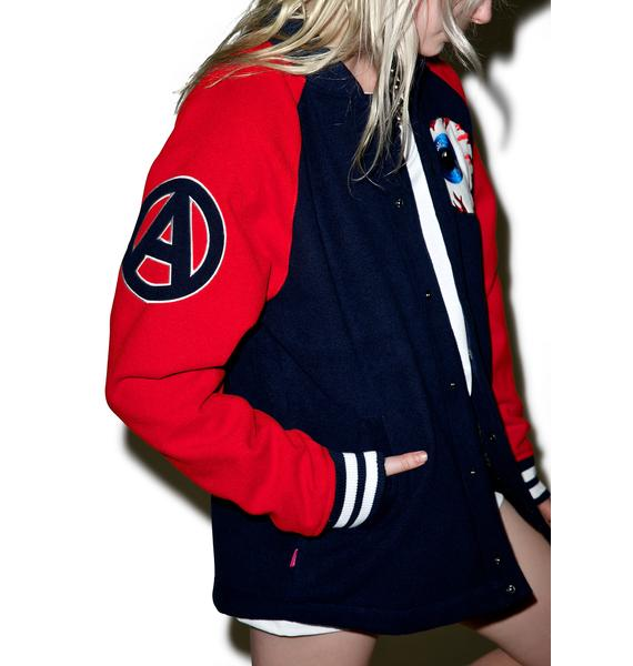 Mishka Varsity Keep Watch Jacket