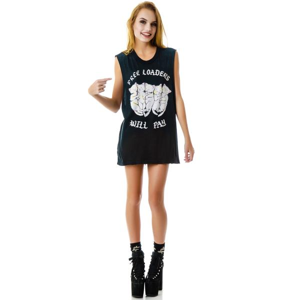 UNIF Free Loaders Sleeveless Tee