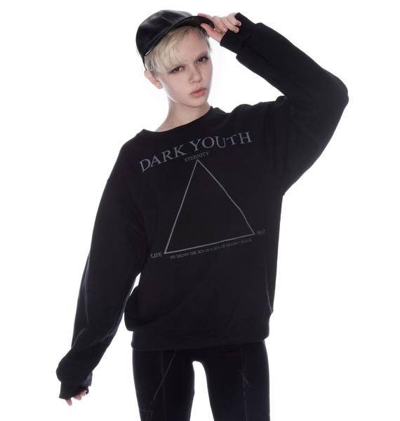 Shop W.A.S. Dark Youth Sweater