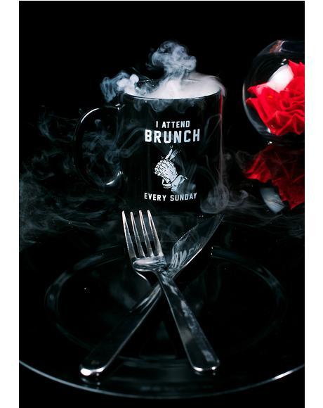 Baddies Who Brunch Mug