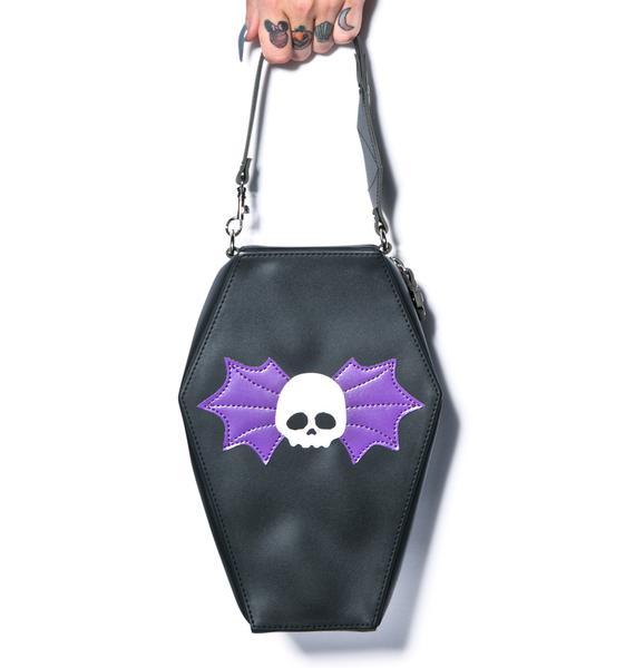Club Exx Til Death Coffin Bag