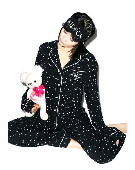 Wild Hearts Classic Pajama Set