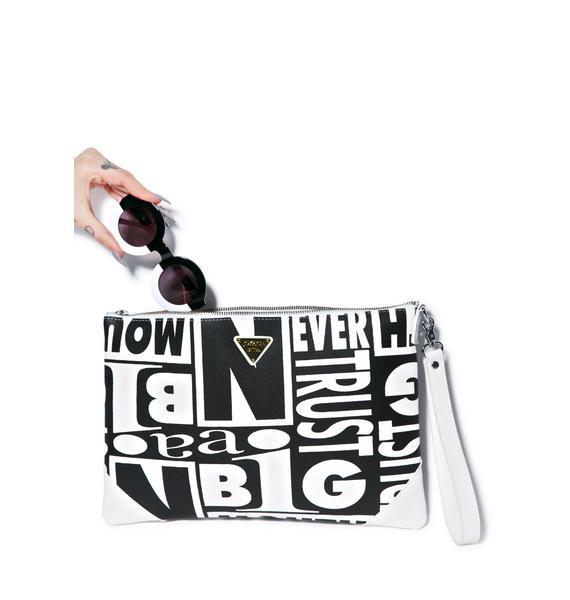 Joyrich Trust Issues Clutch Bag