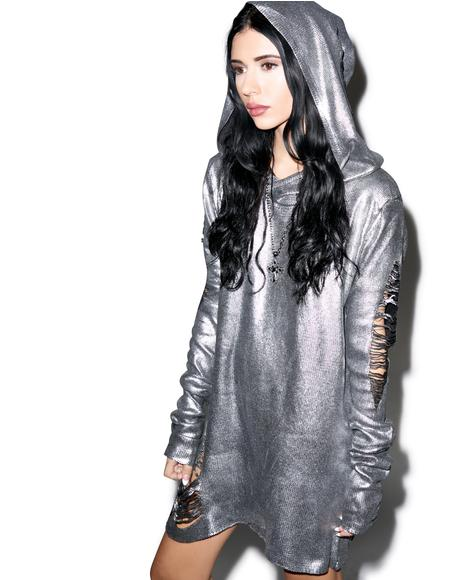 The End Foil Hoodie