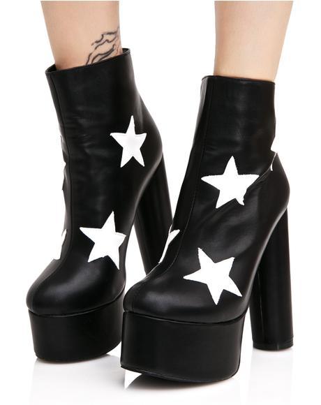 Cloud Star Platform Boots