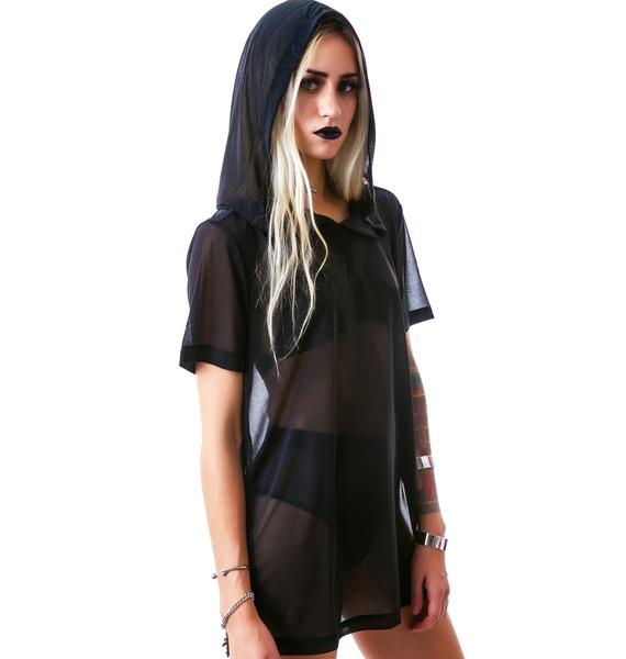 Widow Nightshade Hooded Pullover