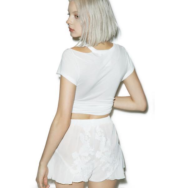 Flora Ruffle Shorts