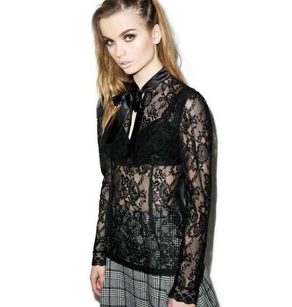 Laced Out Top
