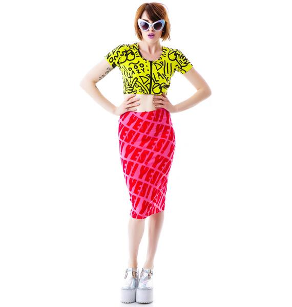 Lazy Oaf I Said Yes Skirt