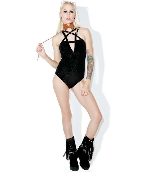 Killstar Burn Baby Bodysuit