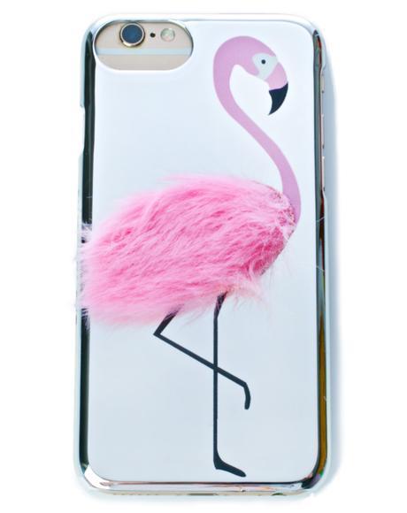 Flamingo Fluff iPhone Case