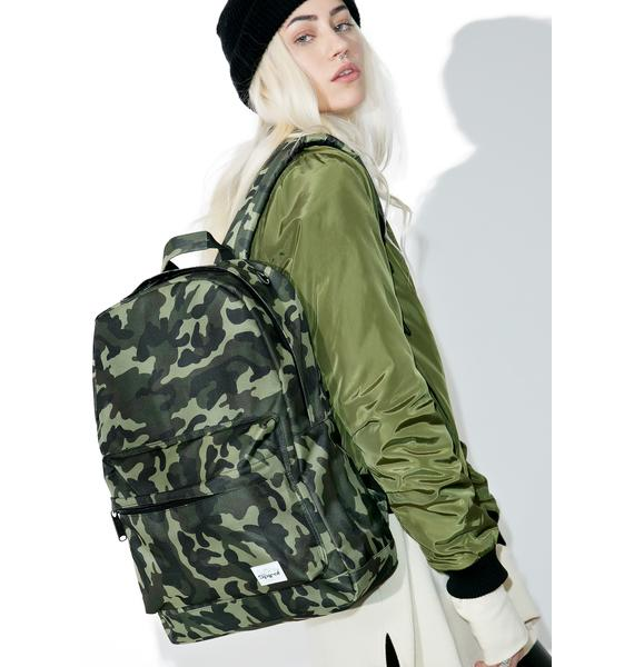 Spiral UK Camo Jungle Backpack