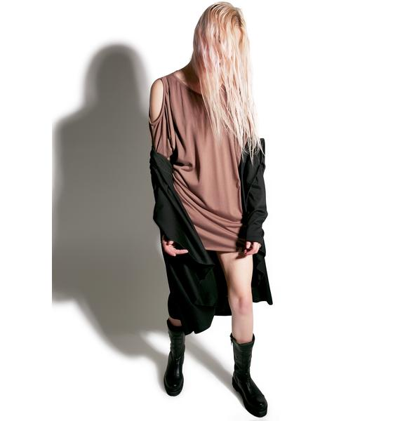 MNML Runaway Draped Long Sleeve