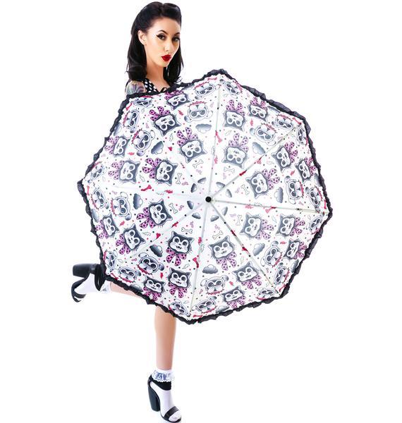 Sourpuss Clothing Cats & Dogs Umbrella
