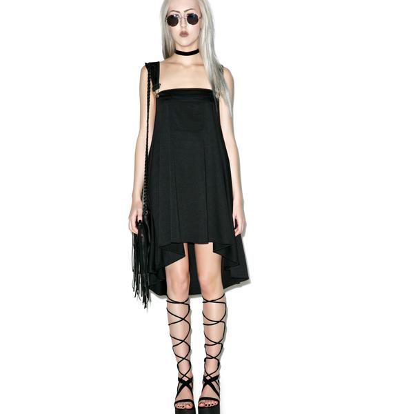 Strings Attached Overall Dress