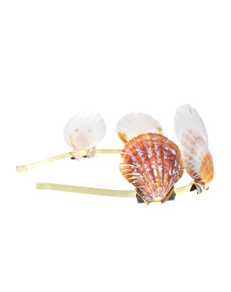 Shell Queen Metal Headband