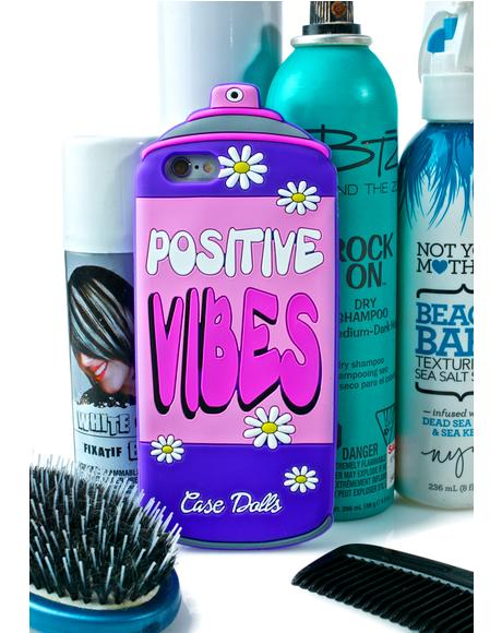 Positives Vibes iPhone Case