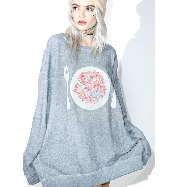 Wildfox Couture Disco Snack Roadtrip Sweater