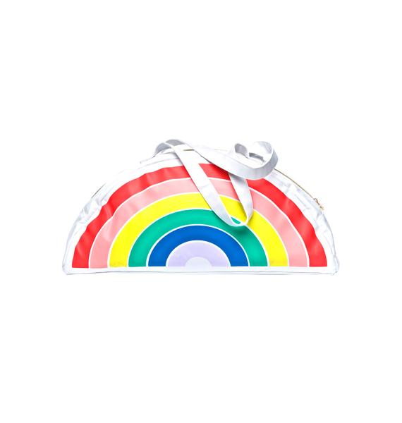 Super Chill Rainbow Cooler Bag