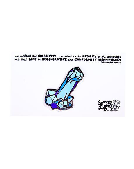 Crystal Dick Pin