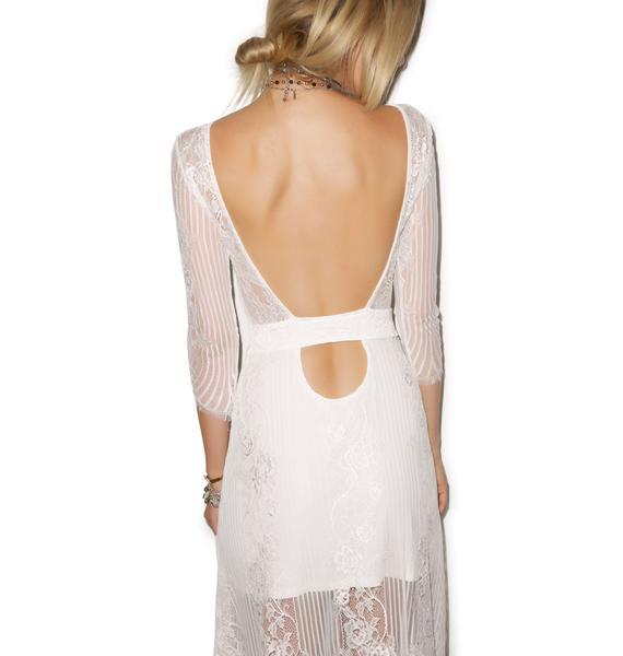 For Love & Lemons San Marcos Maxi Dress