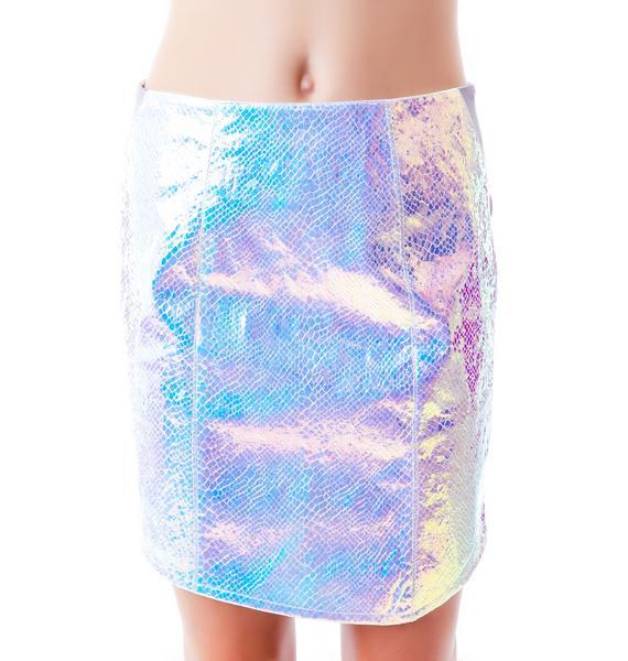 Bitching and Junkfood DNA Mini Skirt