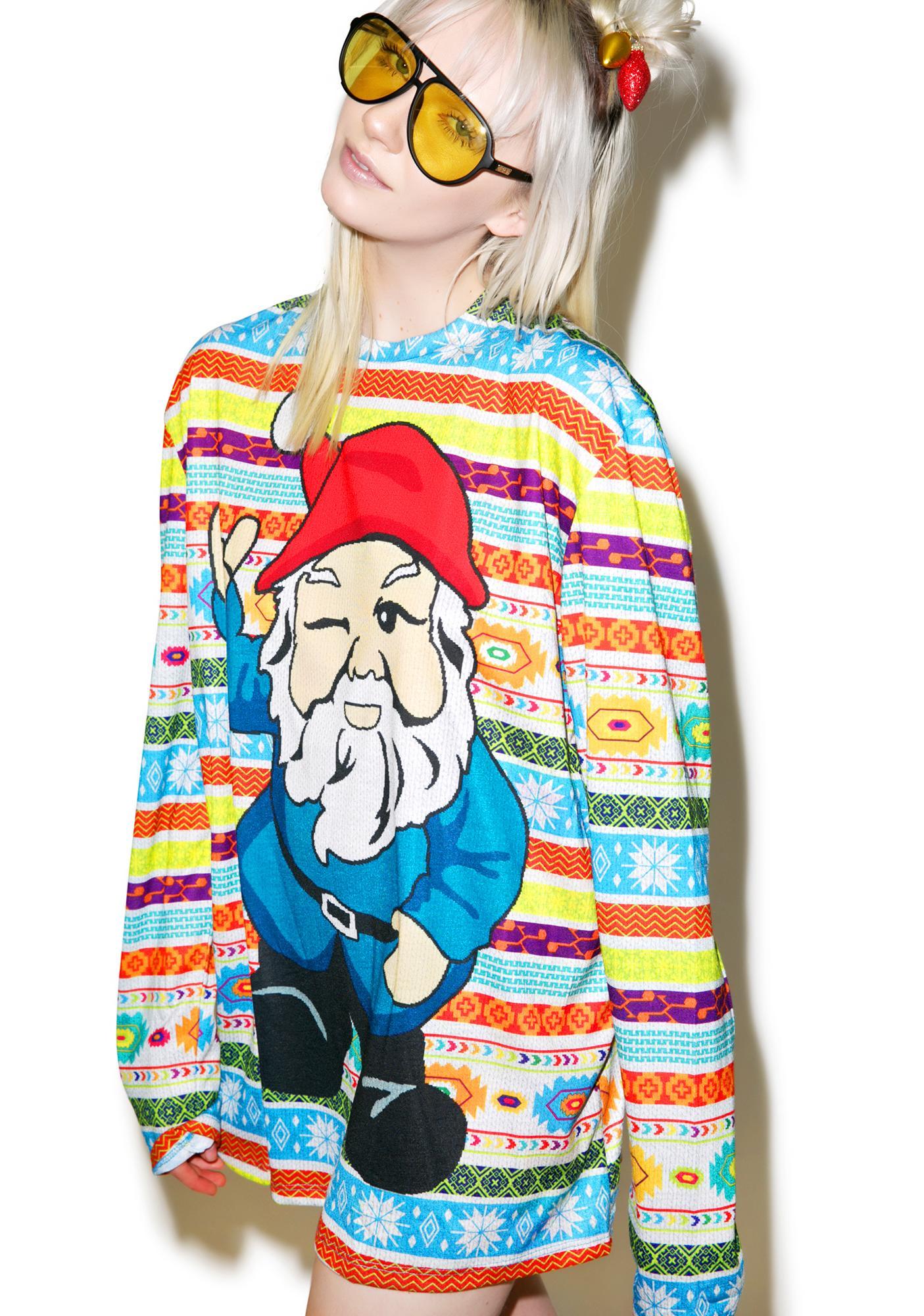 Elf Rock Sweater Tee