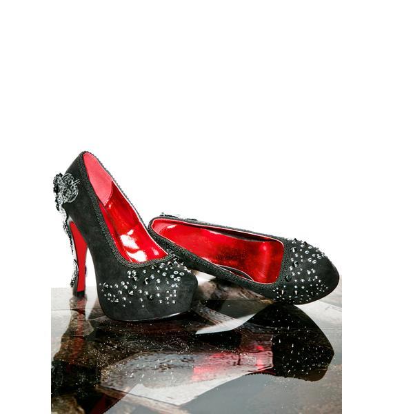 Hades Footwear Amina Platform Heels