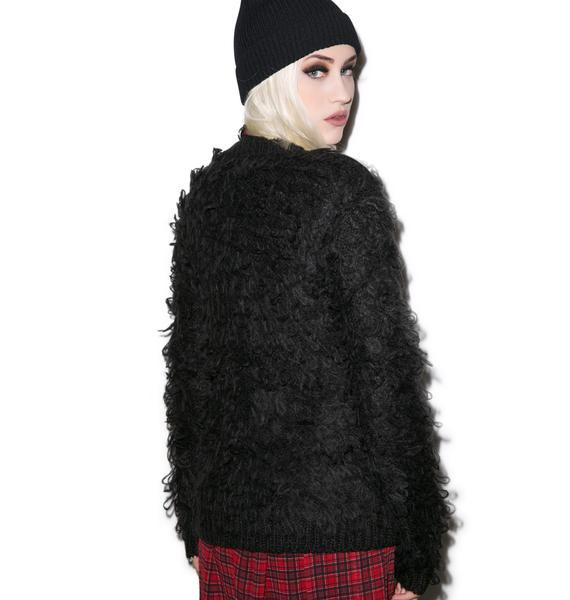 Tripp NYC Gorilla Knit Cardigan