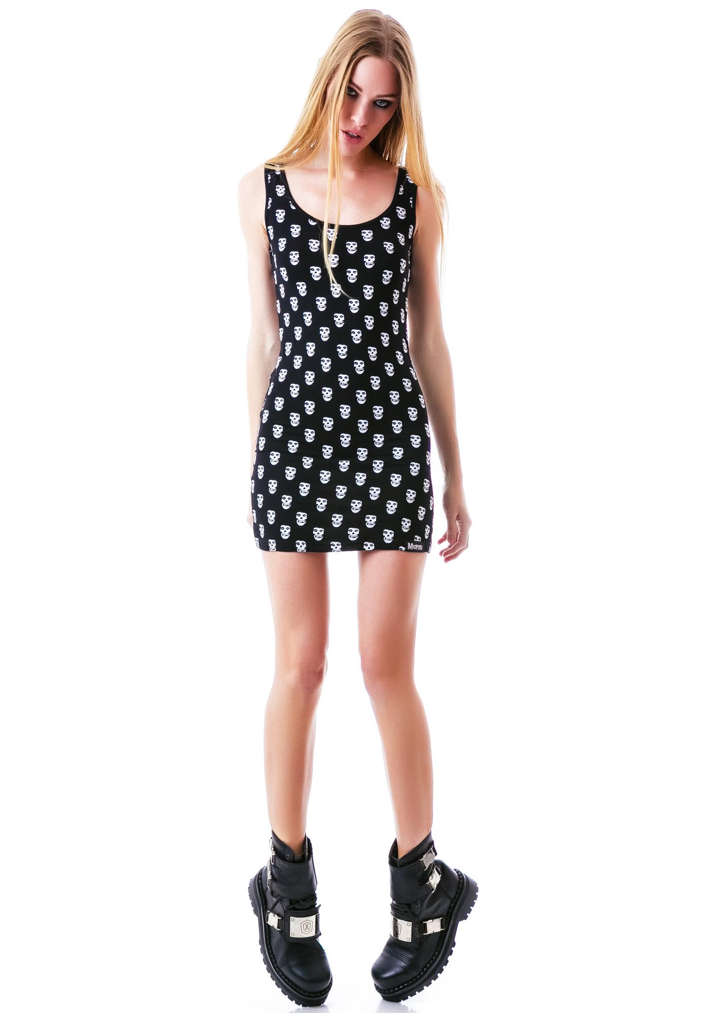 Sourpuss Clothing Misfits Tank Dress