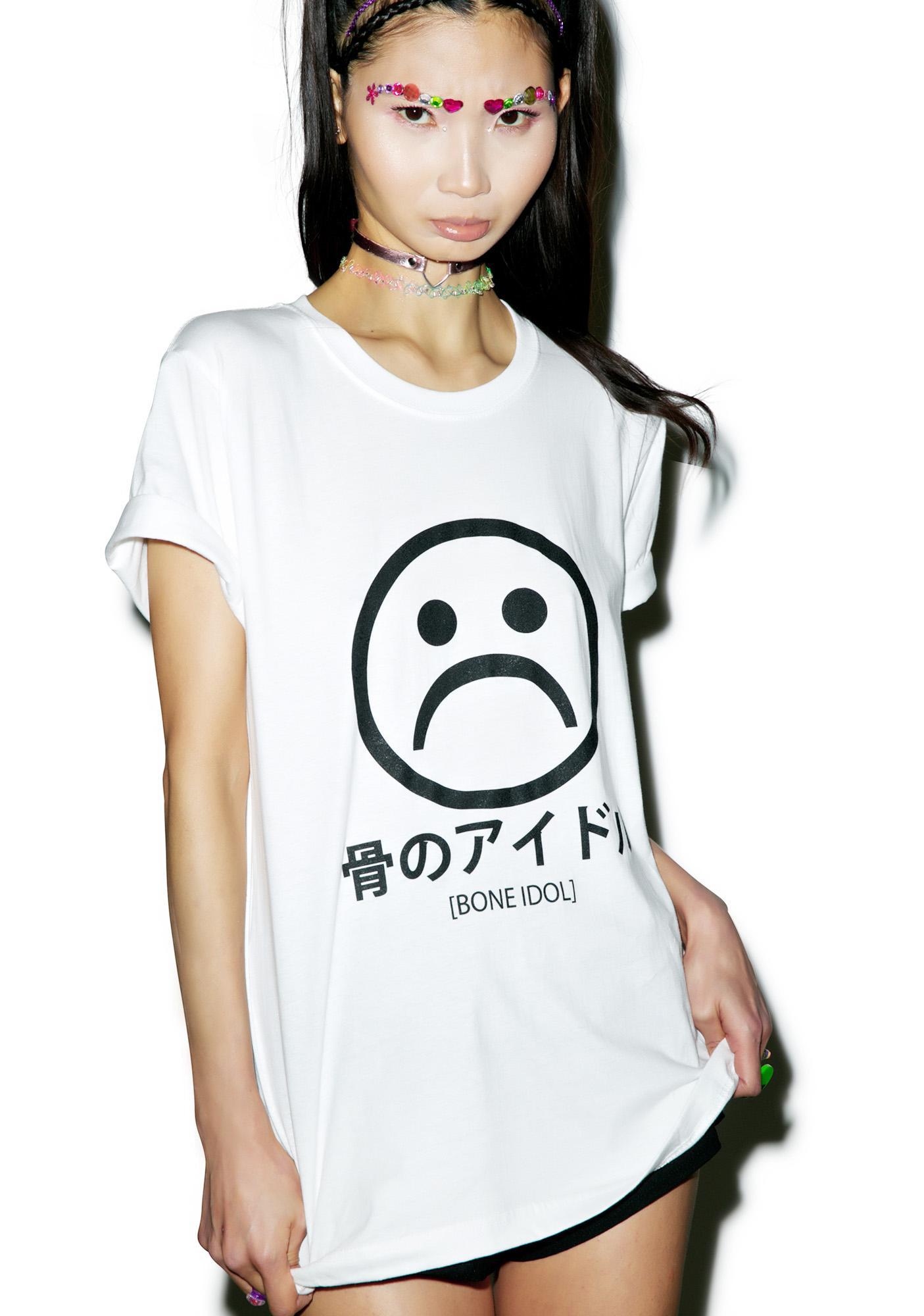 Bone Idol What A Bummer Oversized T-Shirt